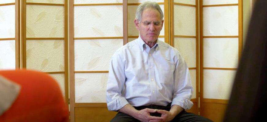 Создатель светской медитации Джон Кабат-Зинн: что такое осознанность?